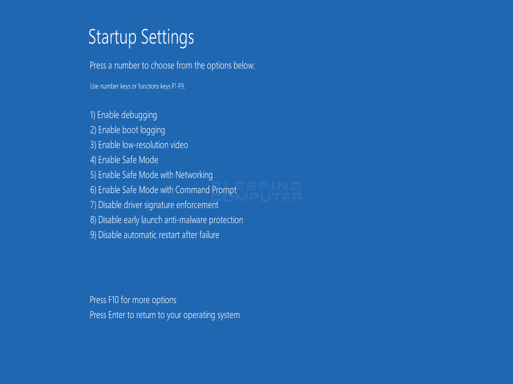How to Start Windows 10 in Safe Mode with Command Prompt