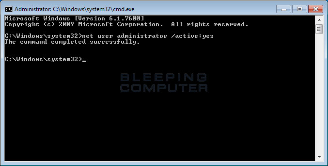 How to enable and disable the Windows Administrator account