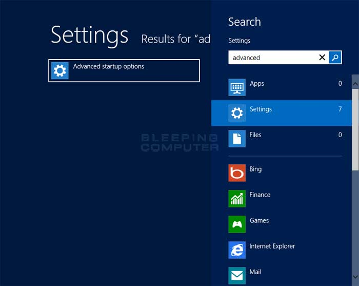 windows 8 update failed reverting changes loop