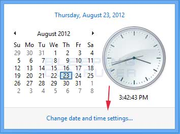 Windows Time & Calendar