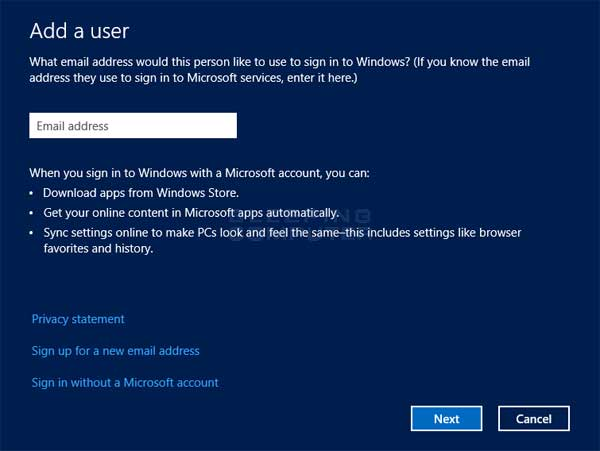 How to create a new user account in windows 8 for How to design windows