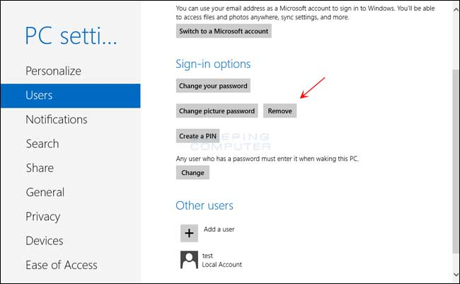 How To Use A Picture Password In Windows 8