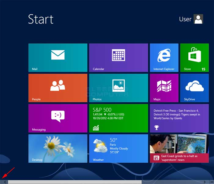 How to access the Power User Tasks Menu in Windows 8