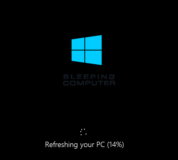 Refreshing the PC
