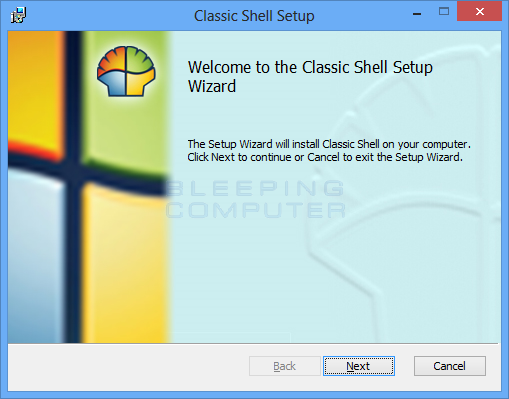 How to add a Start Menu to Windows 8 using Classic Shell