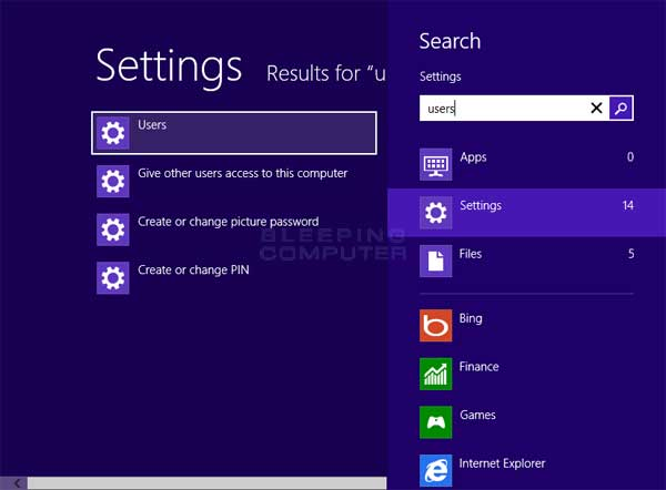 bypass microsoft account login windows 8
