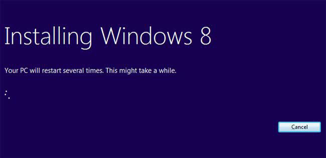 Installing Windows 8