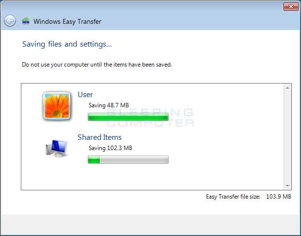 HP PCs - Using Windows Easy Transfer (Windows 8)