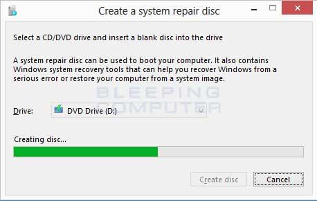 Creating Disc