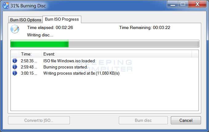 download clone cd windows 7