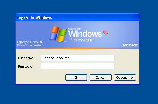 XP Network Log-on for Home Users Computer Network Login